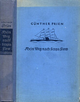 The cover of 'Mein Weg nach Scapa Flow'